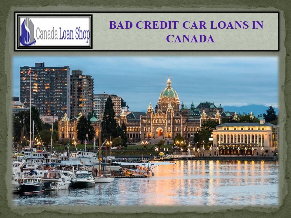Bad Credit Car Loans New Brunswick Canada