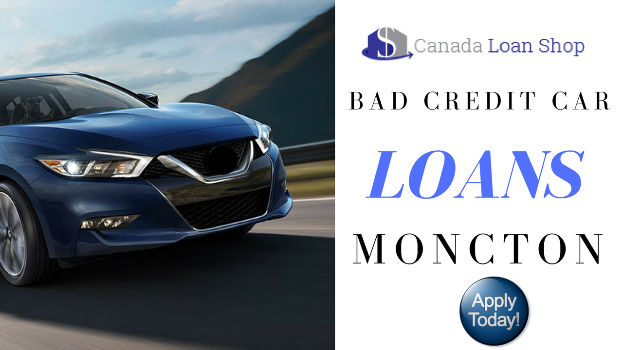 how to buy a car in canada with bad credit