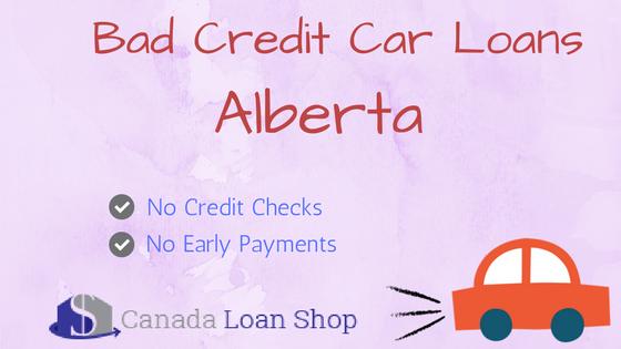 Bad Credit Car Loans Alberta
