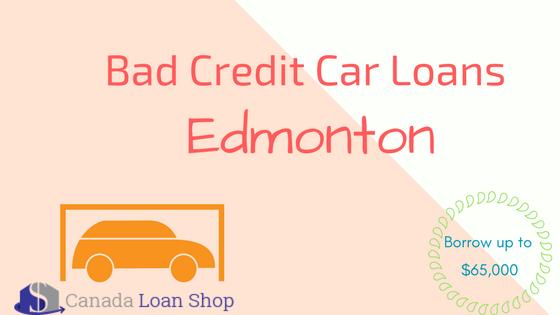 Bad Credit Car Loans Edmonton