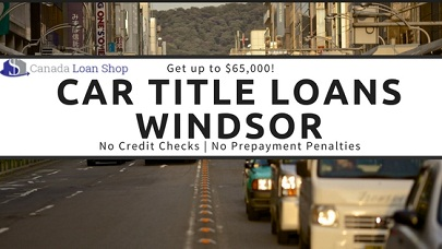 Car Title Loans Windsor