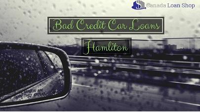 Bad Credit Car Loans Hamilton