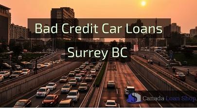 Bad Credit Car Loans Surrey BC